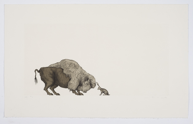 Mel Chin's Self Portrait (Bison and Hare)